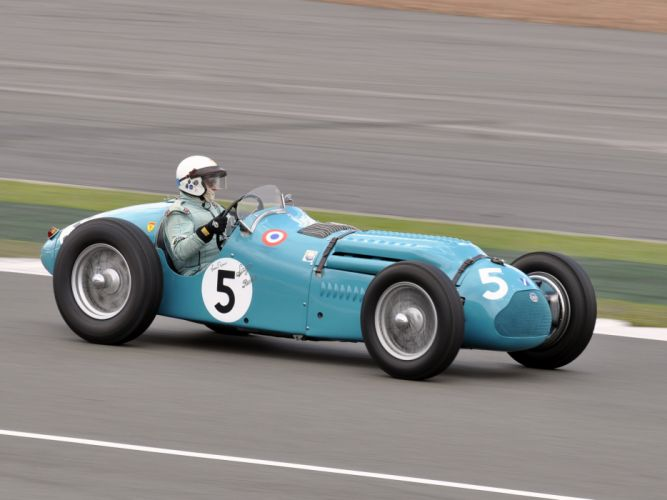 1950 Talbot-Lago T26 G-S retro race racing y wallpaper