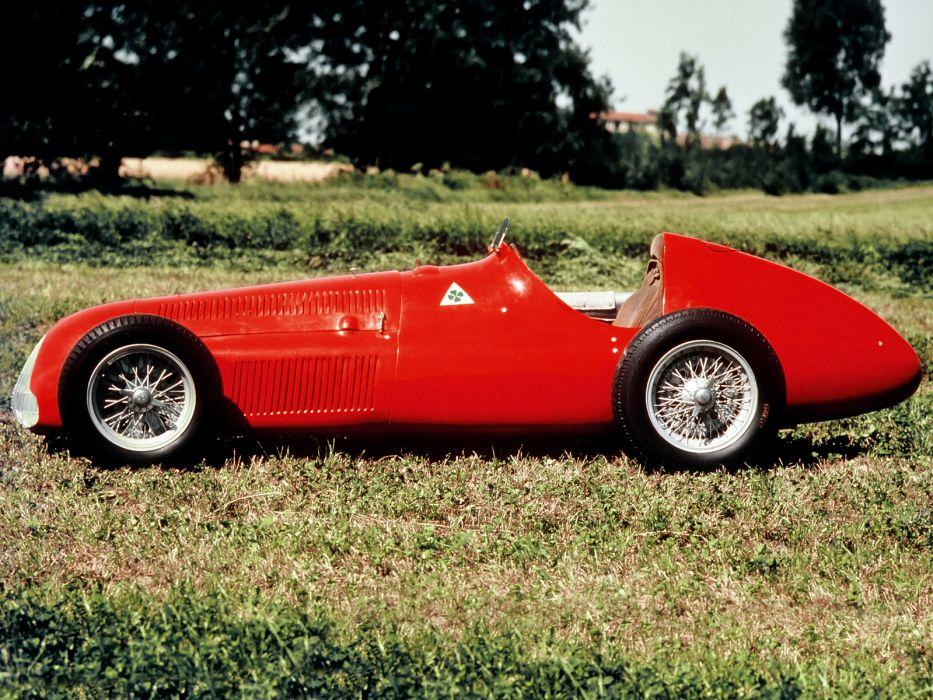 1951 Alfa Romeo Tipo 159 Alfetta retro race racing q wallpaper
