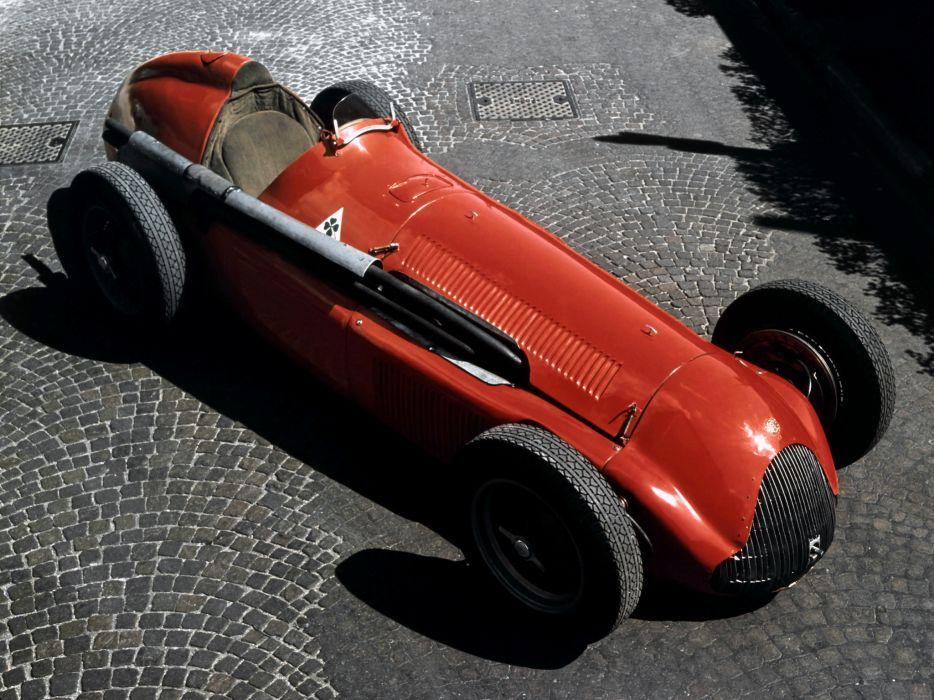 1951 Alfa Romeo Tipo 159 Alfetta retro race racing e wallpaper