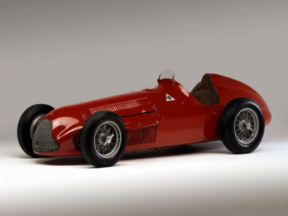 1951 Alfa Romeo Tipo 159 Alfetta retro race racing w wallpaper