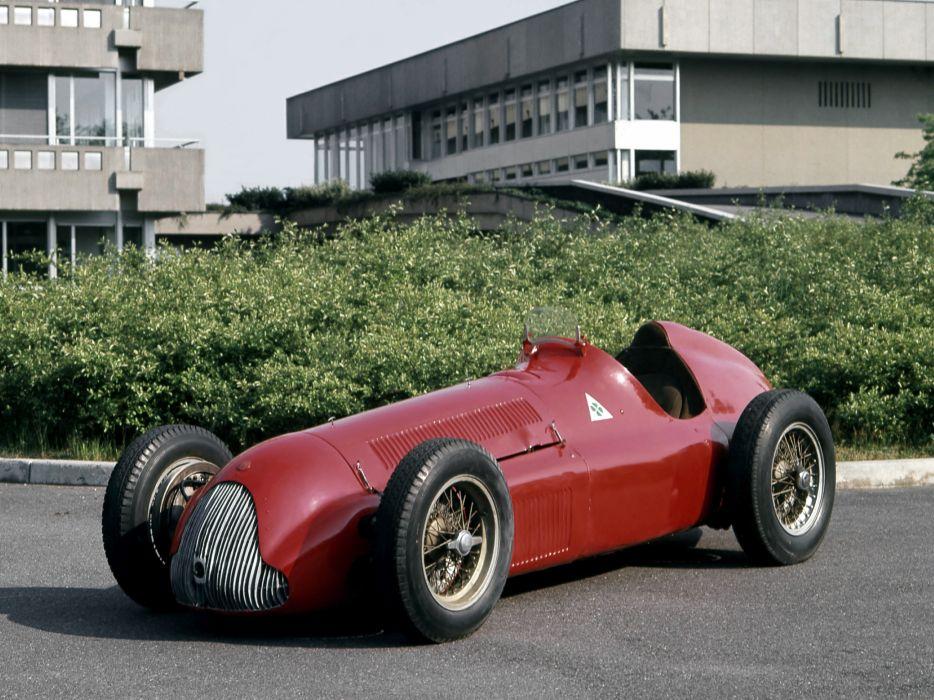 1951 Alfa Romeo Tipo 159 Alfetta retro race racing wallpaper