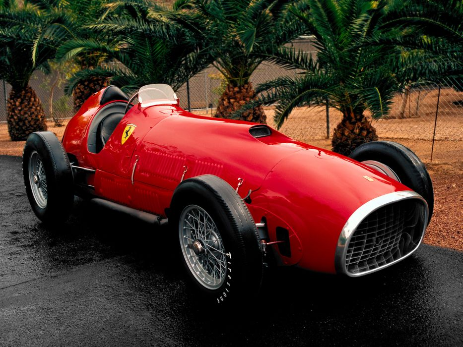 1951 Ferrari 375 F-1 retro race racing wallpaper