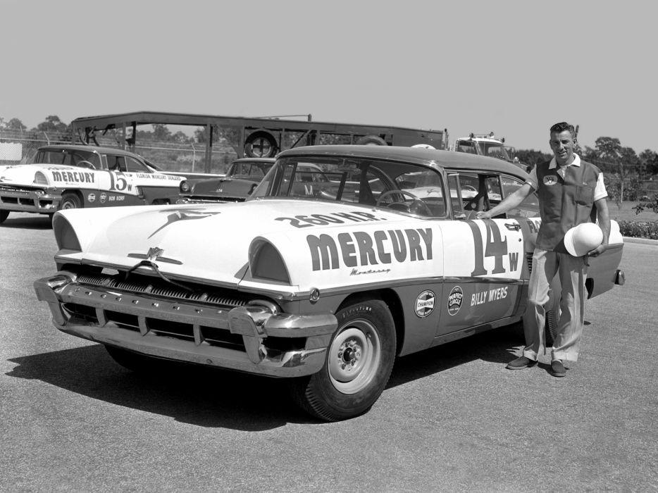 1956 Mercury Monterey NASCAR race racing retro    g wallpaper