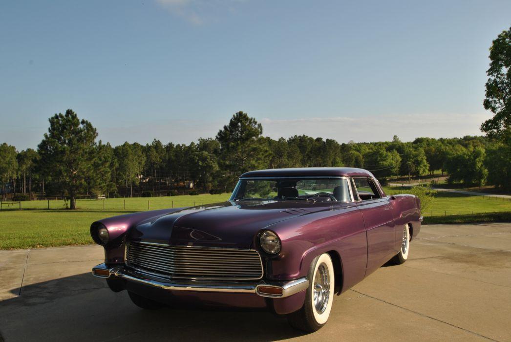 1956 Lincoln Mark II classic retro custom luxury_JPG wallpaper