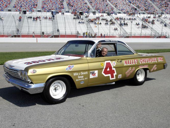 1962 Chevrolet Impala NASCAR race racing classic g wallpaper