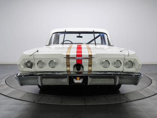 1963 Chevrolet Impala S-S Z33 Mk I-I 427 NASCAR classic race racing muscle f wallpaper