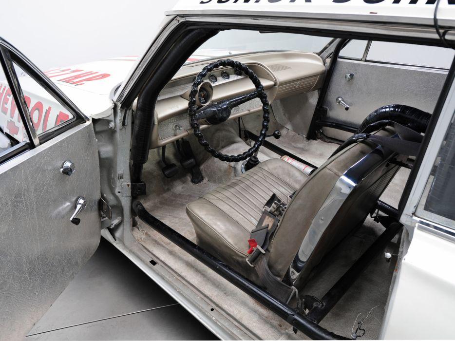 1963 Chevrolet Impala S-S Z33 Mk I-I 427 NASCAR classic race racing muscle interior wallpaper