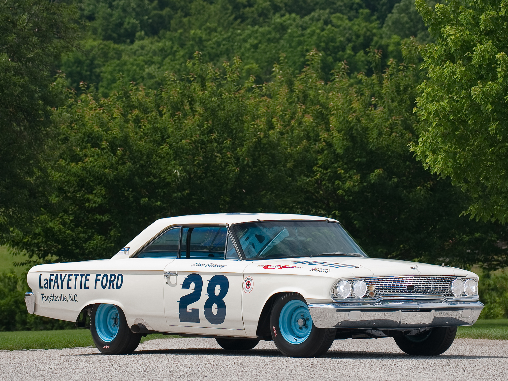 1963 ford galaxie 500 427 - 1963 Ford Galaxie 500 X L 427 Lightweight Nascar Race Racing Classic Muscle D Wallpaper 2048x1536 93914 Wallpaperup