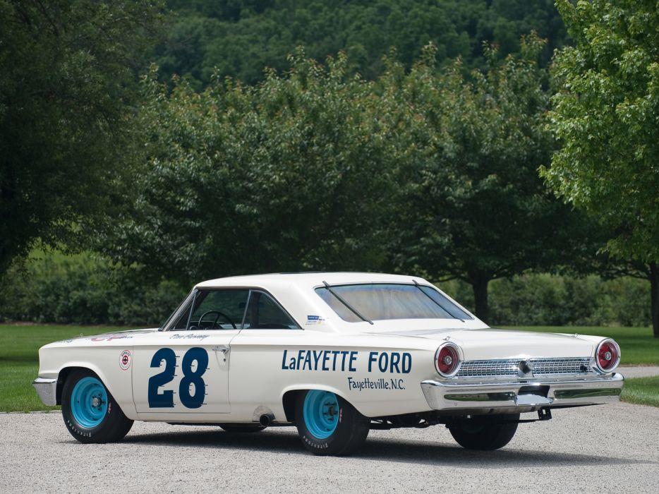 1963 Ford Galaxie 500 X-L 427 Lightweight NASCAR race racing classic muscle q wallpaper
