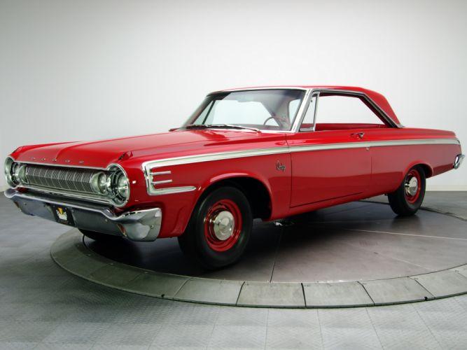 1964 Dodge 440 Street Wedge 622 muscle classic f wallpaper