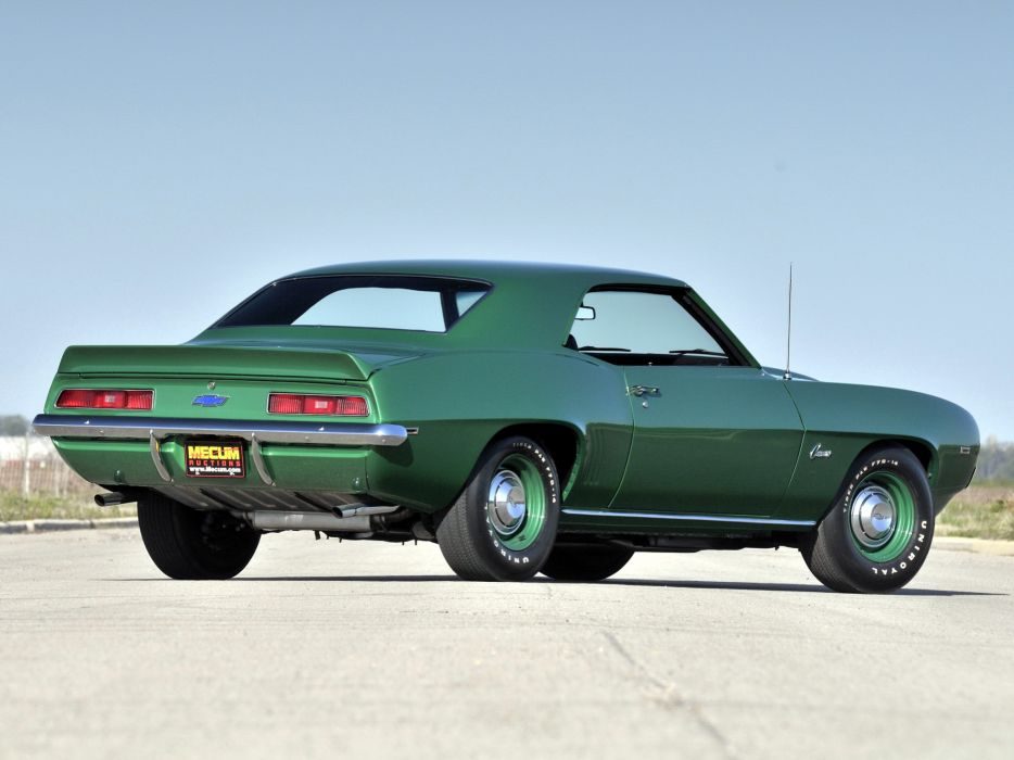 1969 Chevrolet Camaro ZL-1 muscle classic     i wallpaper