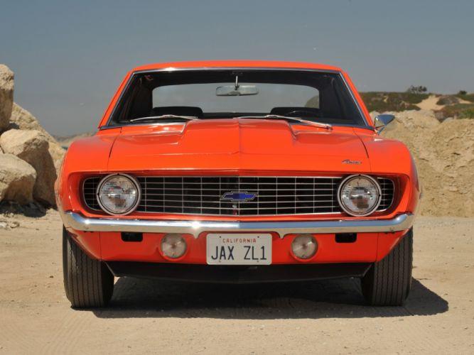 1969 Chevrolet Camaro ZL-1 muscle classic u wallpaper