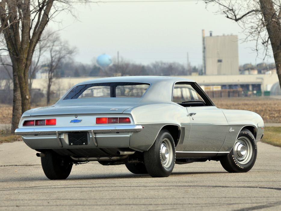 1969 Chevrolet Camaro ZL-1 muscle classic   g wallpaper
