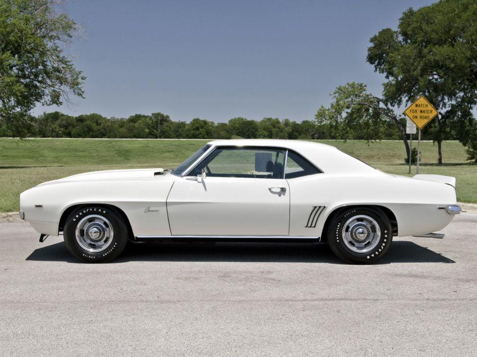 1969 Chevrolet Camaro ZL-1 muscle classic   gp wallpaper