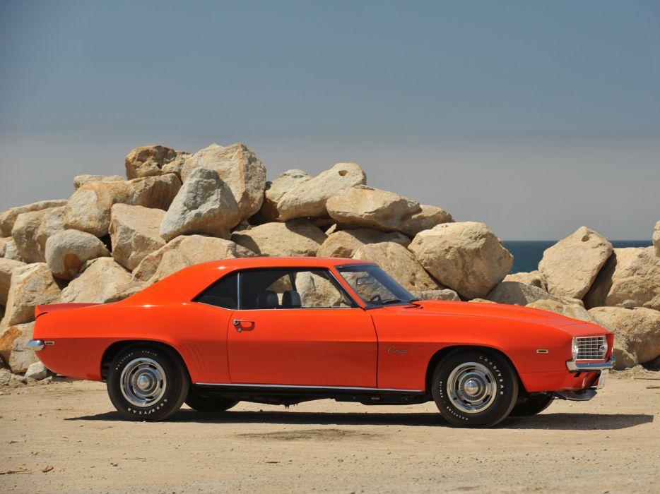 1969 Chevrolet Camaro ZL-1 muscle classic  d wallpaper