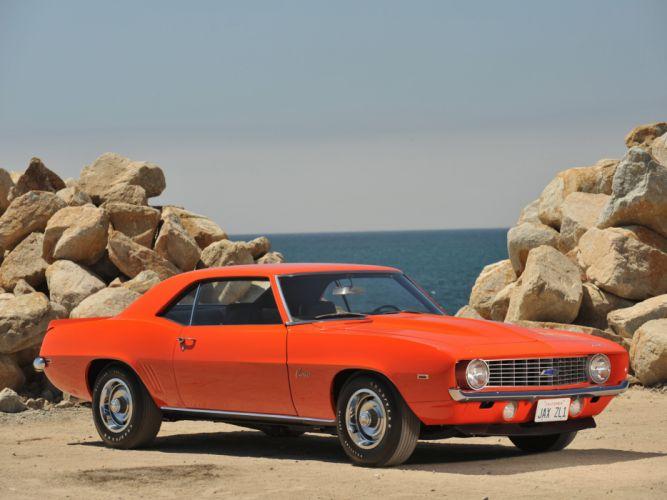 1969 Chevrolet Camaro ZL-1 muscle classic y wallpaper