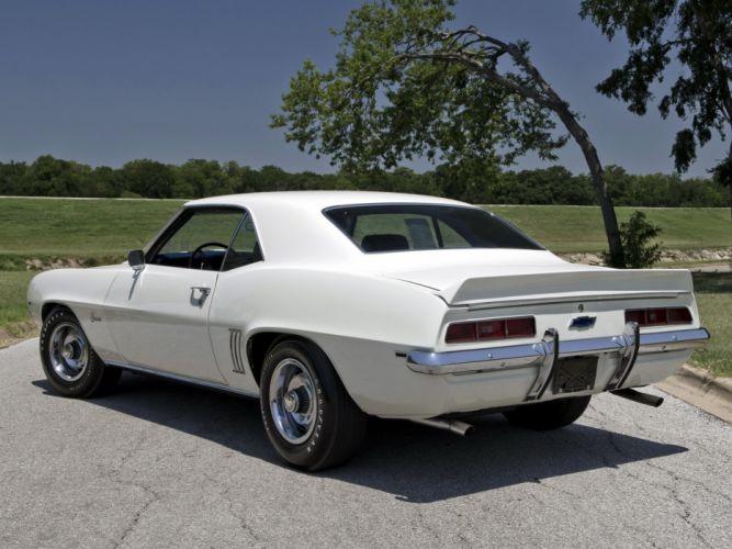 1969 Chevrolet Camaro ZL-1 muscle classic w wallpaper
