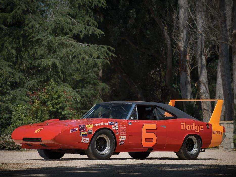 1969 Dodge Charger Daytona NASCAR classic muscle race racing q wallpaper