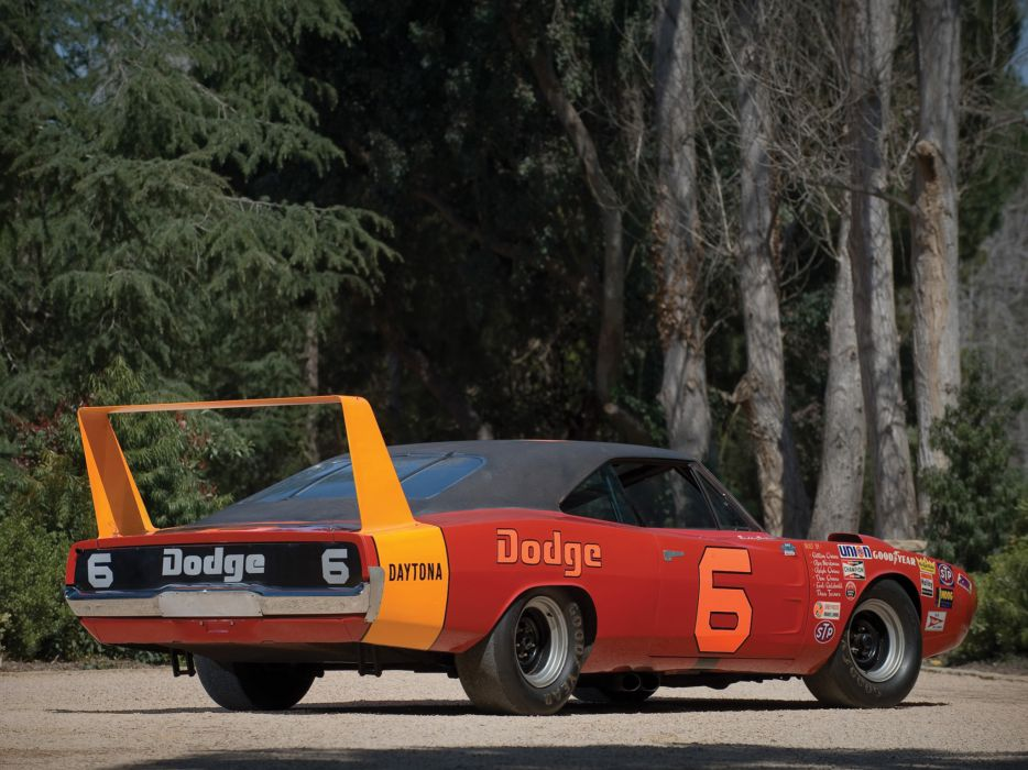 1969 Dodge Charger Daytona NASCAR classic muscle race racing wallpaper