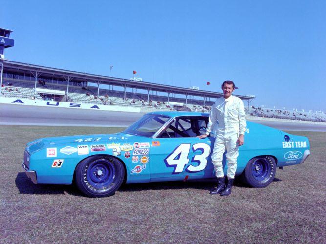 1969 Ford Torino NASCAR race racing h wallpaper