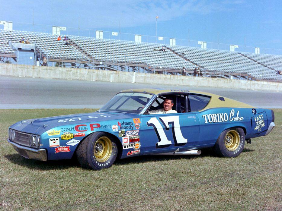 1969 Ford Torino NASCAR race racing wallpaper