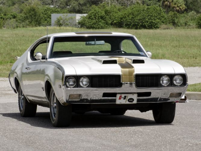 1969 Hurst-Olds 442 Holiday Coupe 4487 455 d wallpaper