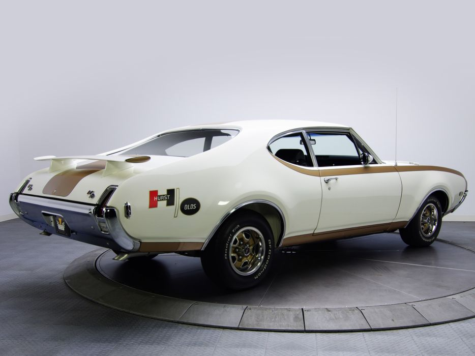1969 Hurst-Olds 442 Holiday Coupe 4487 455      f wallpaper