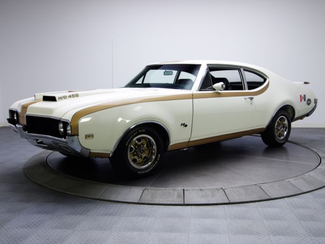 1969 Hurst-Olds 442 Holiday Coupe 4487 455 wallpaper