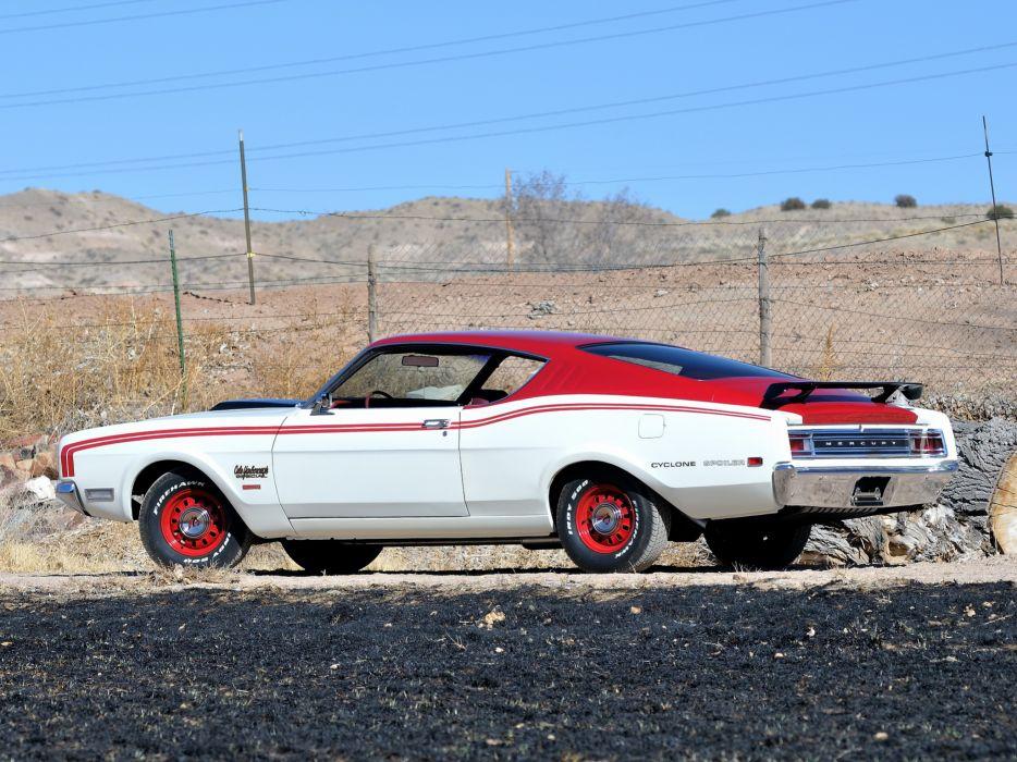 1969 Mercury Cyclone Spoiler I-I Cale Yarborough 63H muscle nascar classic        g wallpaper