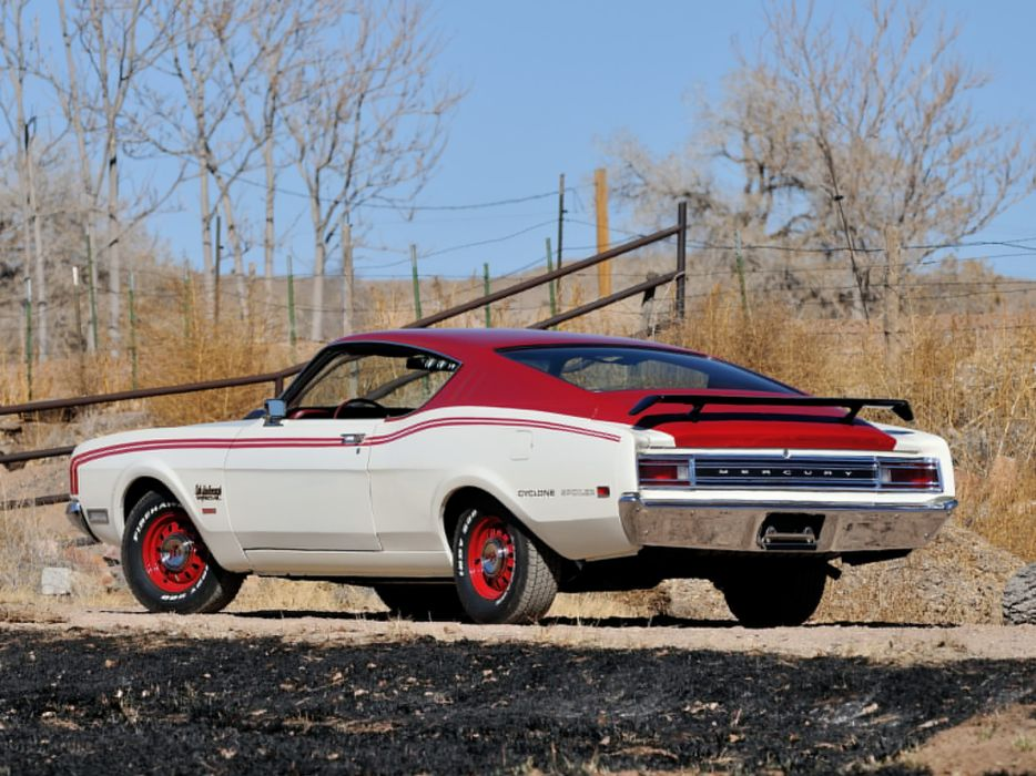 1969 Mercury Cyclone Spoiler I-I Cale Yarborough 63H muscle nascar classic    g wallpaper