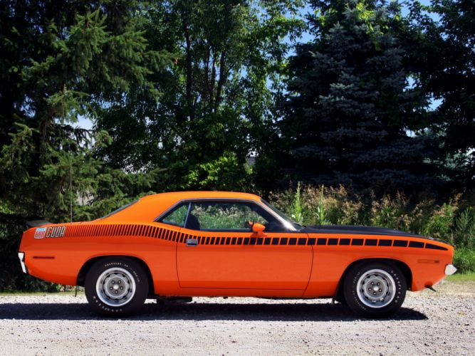 1970 Plymouth AAR Cuda BS23 muscle classic h wallpaper