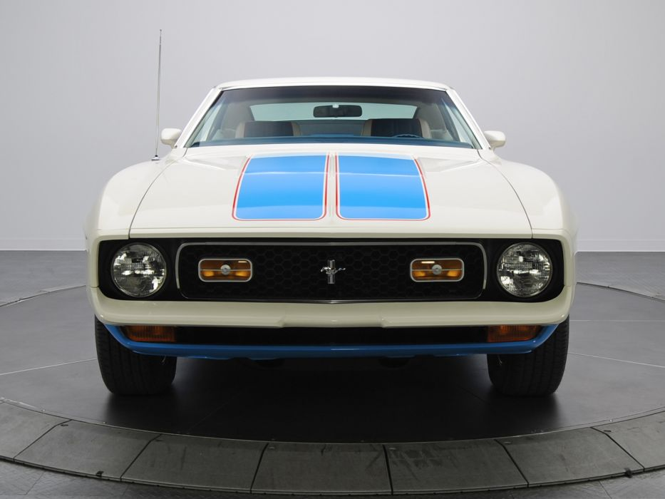 1972 Ford Mustang Sprint Sportsroof muscle classic       d wallpaper