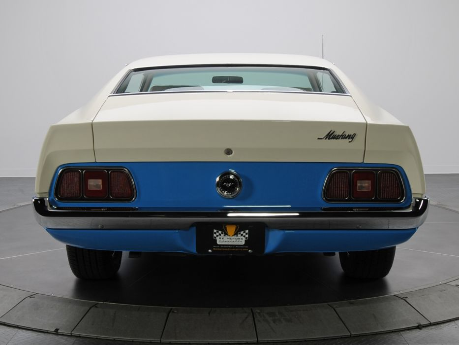 1972 Ford Mustang Sprint Sportsroof muscle classic     f wallpaper
