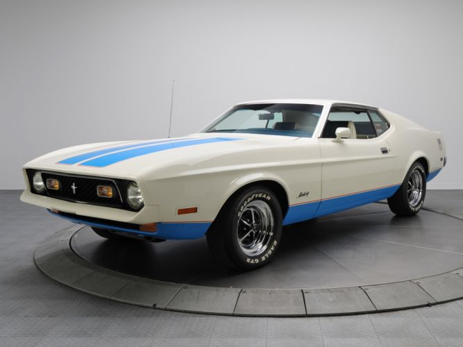 1972 Ford Mustang Sprint Sportsroof muscle classic g wallpaper