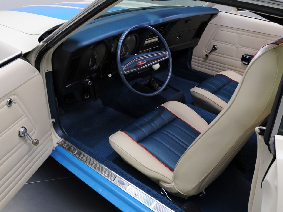 1972 Ford Mustang Sprint Sportsroof muscle classic interior wallpaper