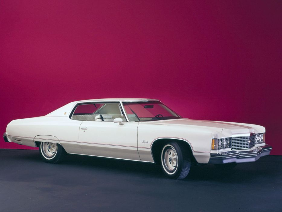 1974 Chevrolet Impala Sport Coupe luxury classic wallpaper