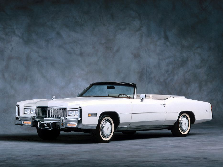 1976 Cadillac Eldorado luxury classic wallpaper