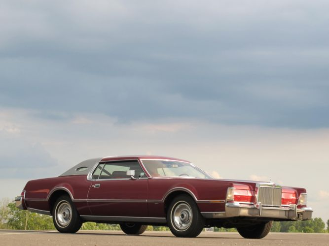1976 Lincoln Continental Mark I-V luxury classic j wallpaper