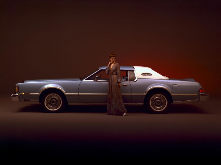 1976 Lincoln Continental Mark I-V luxury classic   j wallpaper