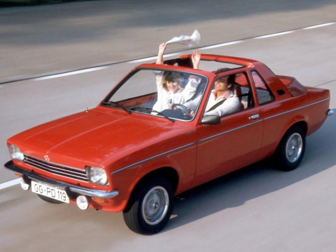 1976 Opel Kadett Aero classic g wallpaper