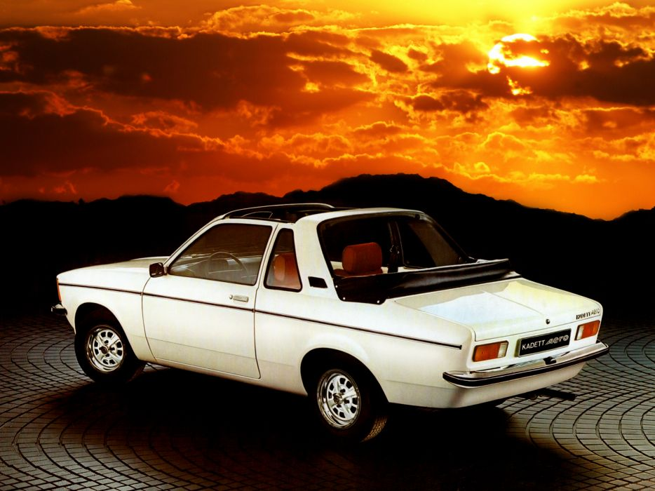 1976 Opel Kadett Aero classic wallpaper