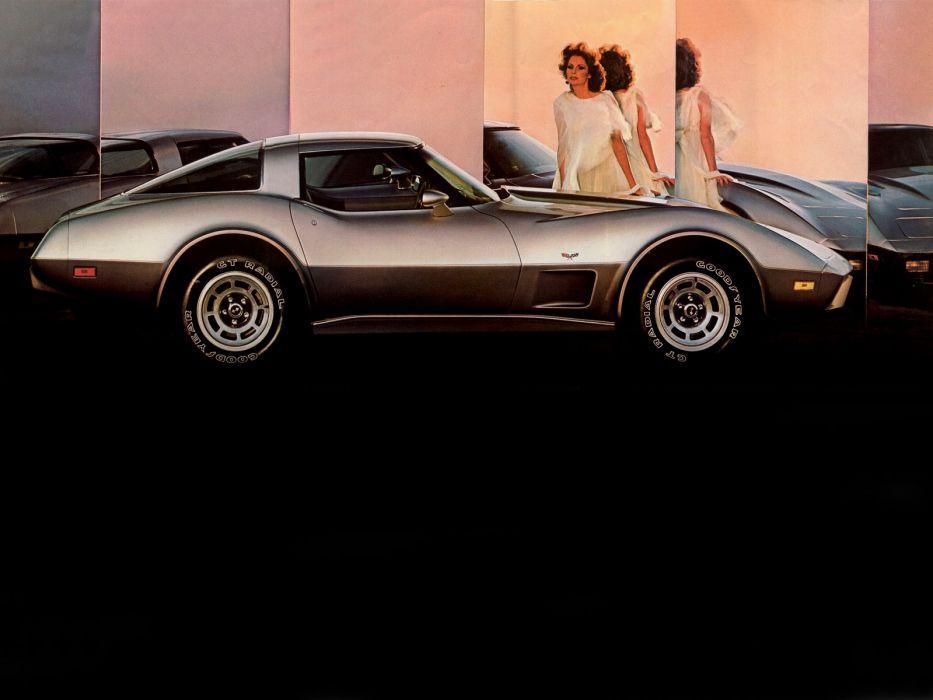 1978 Chevrolet Corvette C-3 muscle classic supercar supercars wallpaper