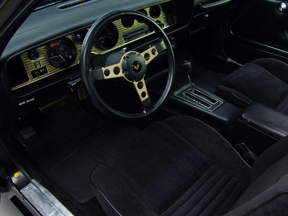 1978 Pontiac Firebird Trans-Am T -A 6-6 W72 trans a-m classic muscle interior c wallpaper