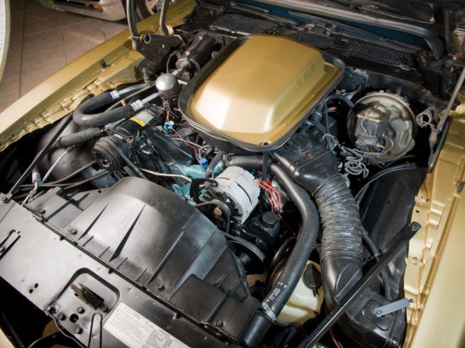 1978 Pontiac Firebird Trans-Am trans a-m muscle classic engine engines wallpaper