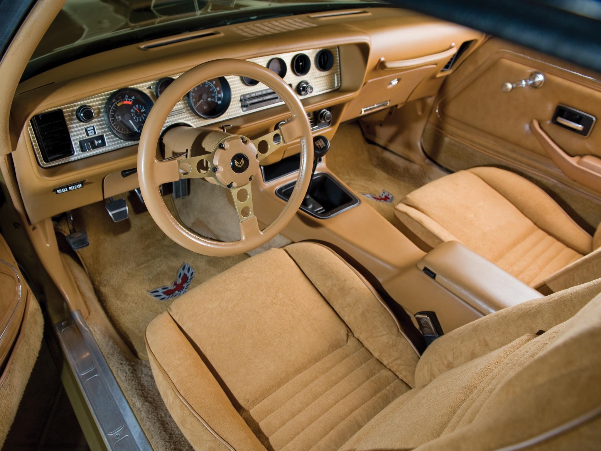 1978 Pontiac Firebird Trans Am Trans A M Muscle Classic Interior Wallpaper 2048x1536 94060