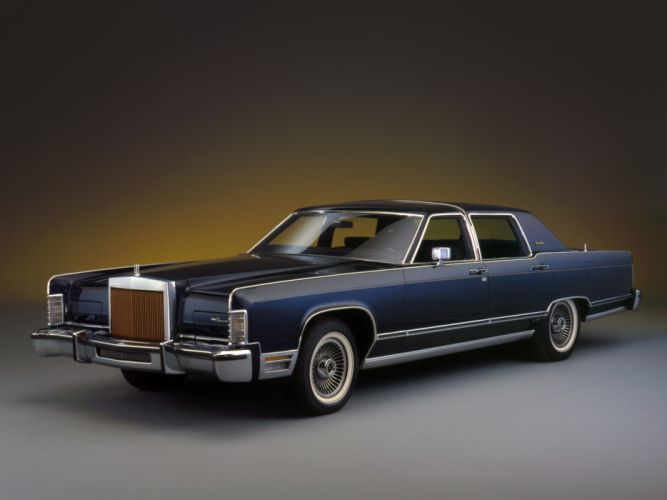 1979 Lincoln Continental luxury classic wallpaper