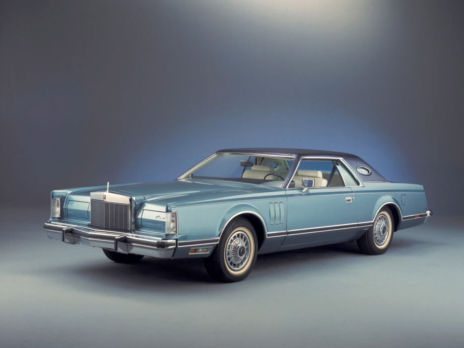 1979 Lincoln Continental Mark-V luxury classic wallpaper