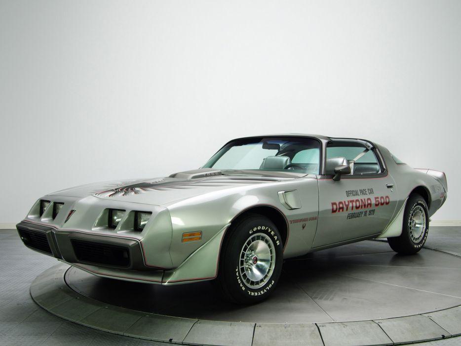 1979 Pontiac Firebird Trans Am T-A 6-6 L78 muscle classic daytona pace muscle classic e wallpaper