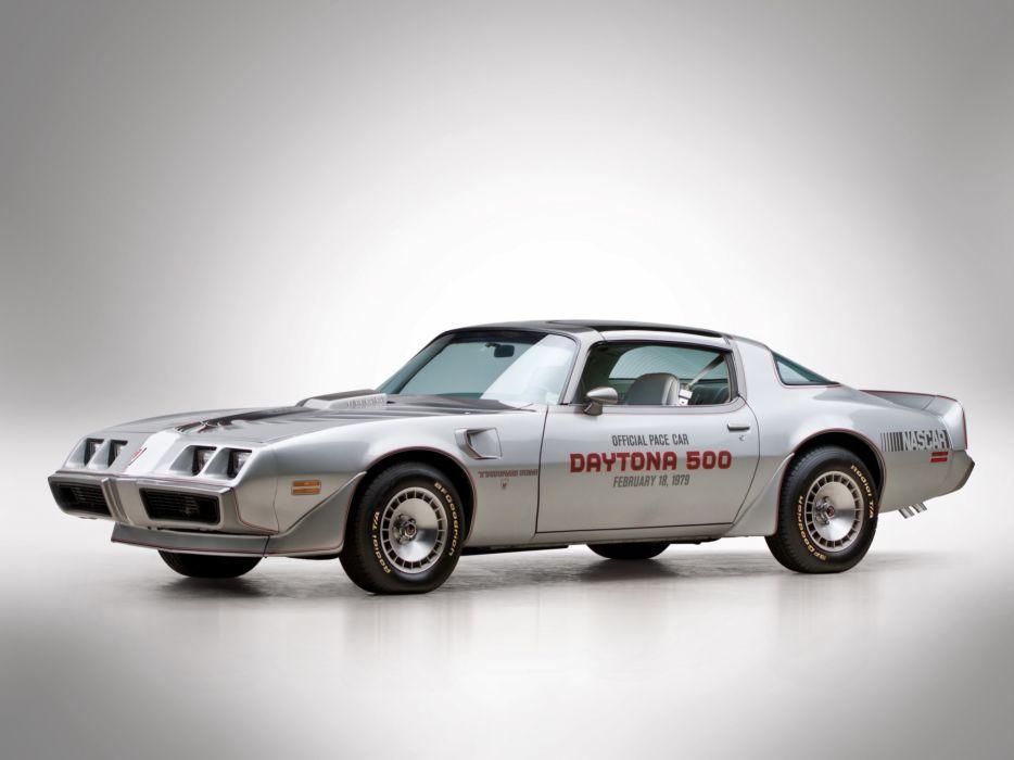 1979 Pontiac Firebird Trans Am T-A 6-6 L78 muscle classic daytona pace muscle classic w wallpaper