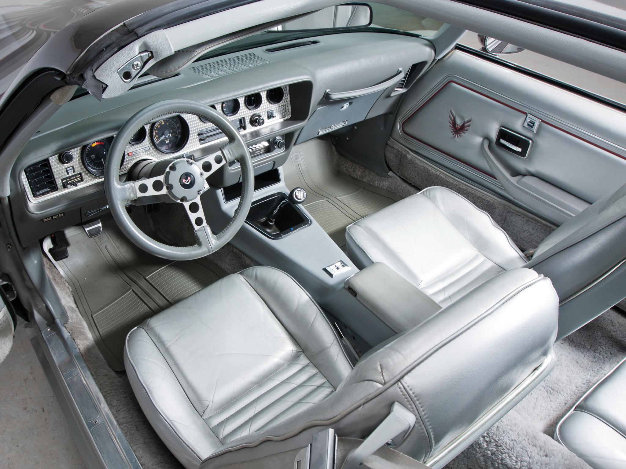 1979 Pontiac Firebird Trans Am T-A 6-6 L78 muscle classic interior